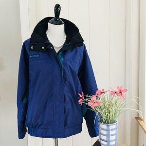 "COLUMBIA Royal Blue ""Bugaboo"" Windbreaker Jacket"